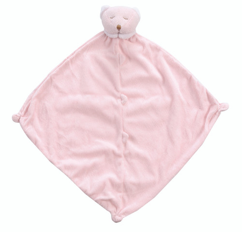 Pink Bear Lovey or Blankie