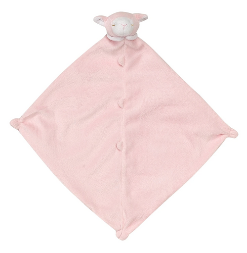 Pink Lamb Lovey or Blankie