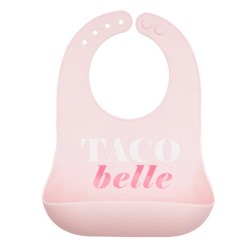 Taco Belle Silicone Bib