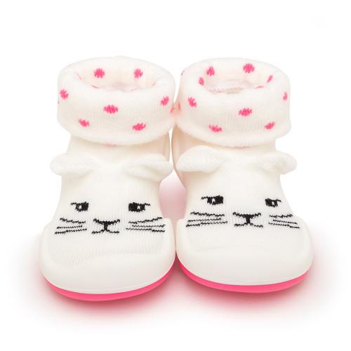 Pink Cat Baby Shoe