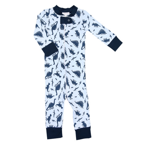 Dino Zipped Pajamas