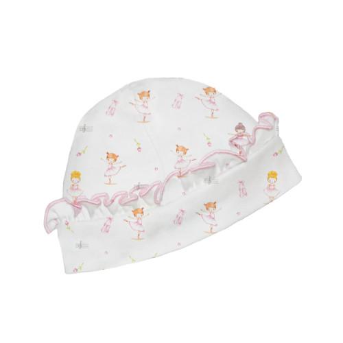 Printed Ballerina Ruffle Hat