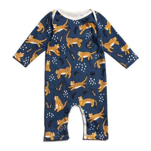 Wildcat French Terry Romper