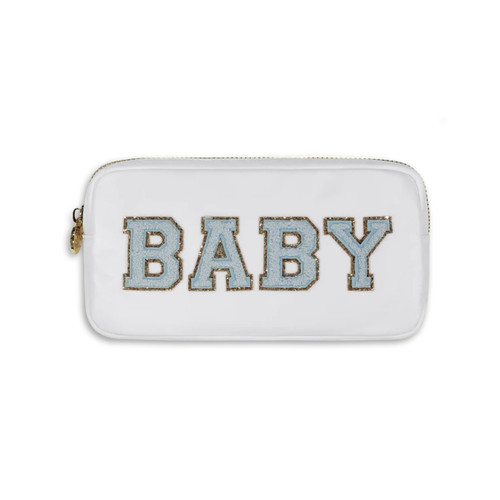 Blue Baby Small Pouch