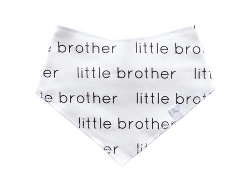 Lil Brother Bandana Bib