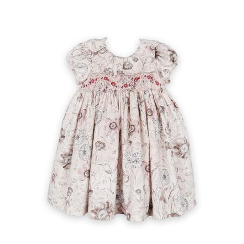 Wildflowers Petal Collar Dress