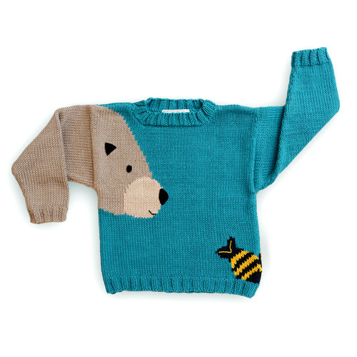 Hunter Bear Sweater