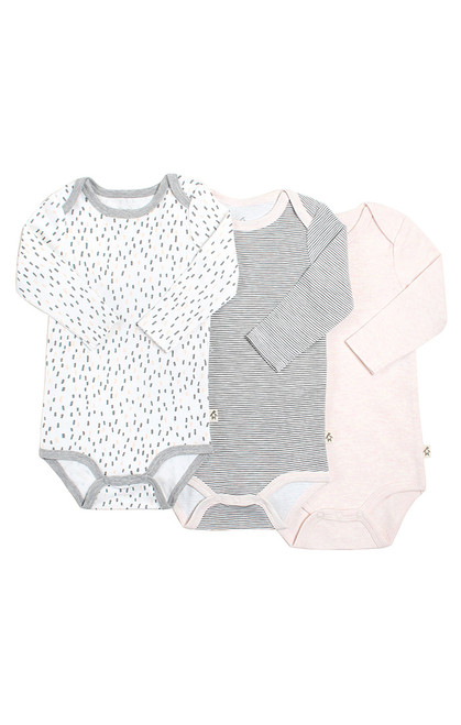 Dream Girl 3PK L/S Bodysuit