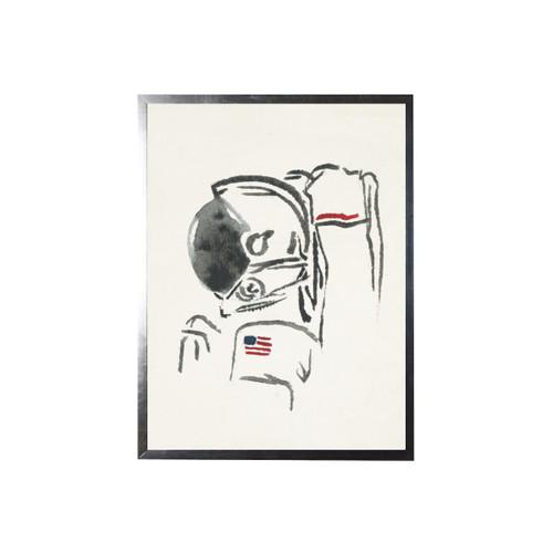 Watercolor Astronaut