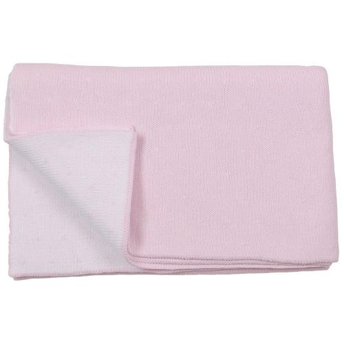 Pindot Baby Blanket - Pink
