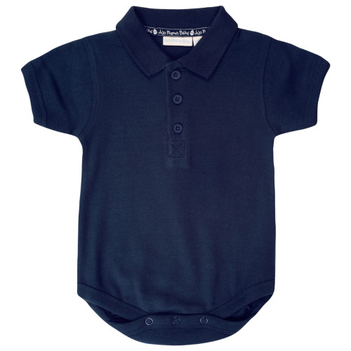 Polo bodysuit - Navy