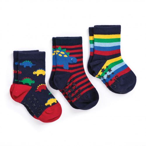 Dino Socks - 3 Pack