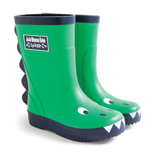 Green Dino - Classic Wellies