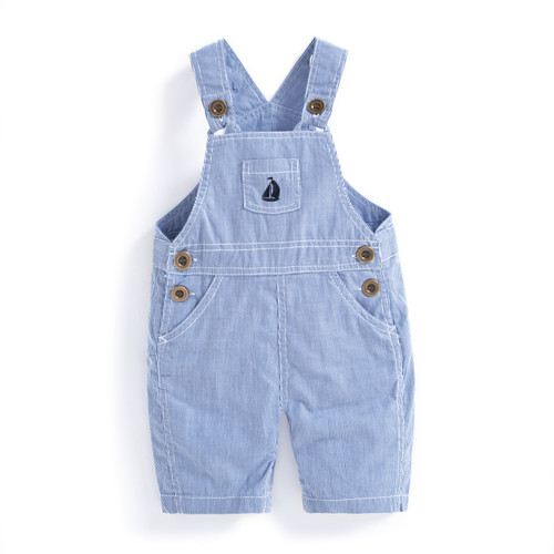 Blue Stripe Overalls