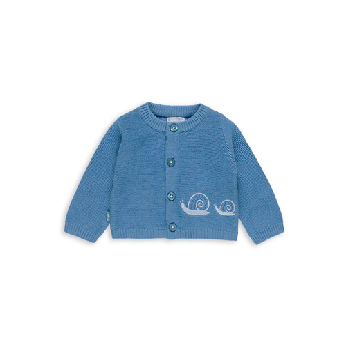 Blue Snail Cardigan