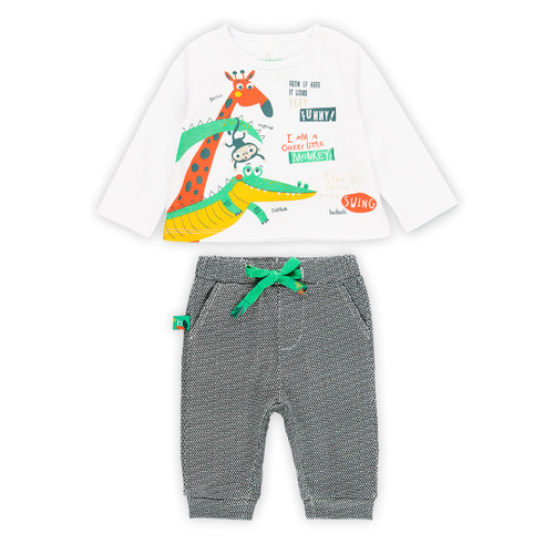 Animal T-shirt with Pants