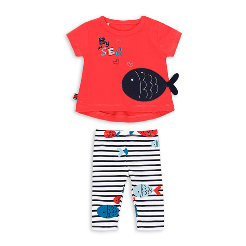Fish T-shirt and Legging set