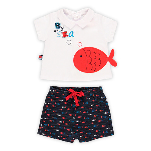 Fish T-shirt with Shorts