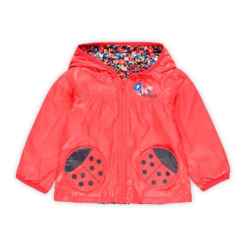 Red Ladybug Reversible Jacket