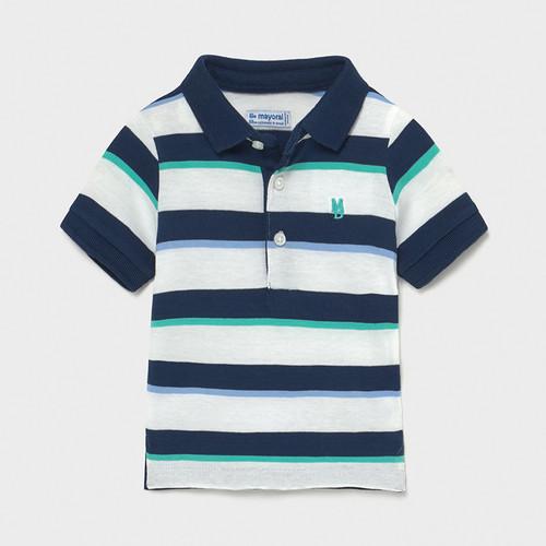 Wide Stripe Polo