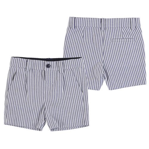Twill Short -Blue Stripe