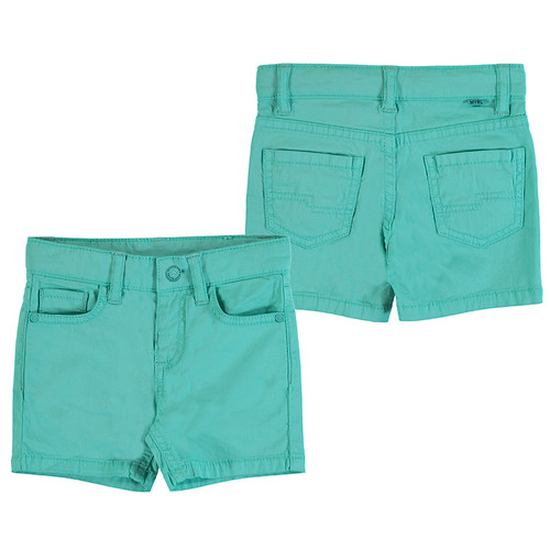 5 Pocket Twill Short - Aqua