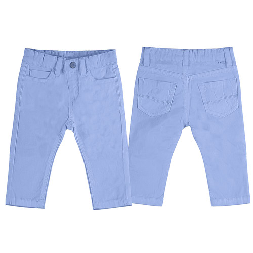 Slim Fit  Pant - Light Blue