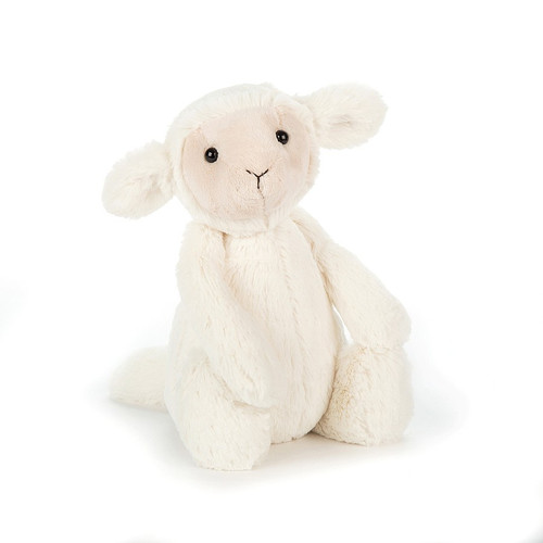 Bashful Lamb - Small 7x4""