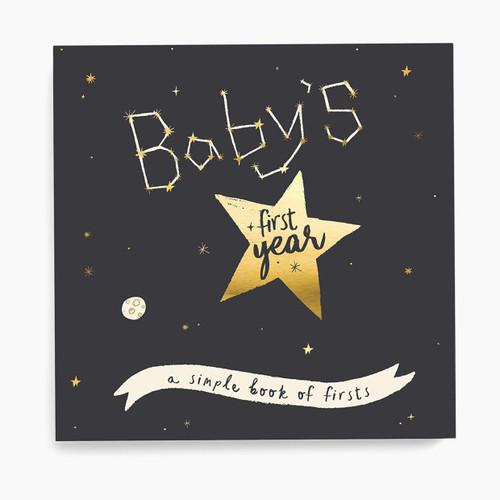 Gold Star Baby Record Book