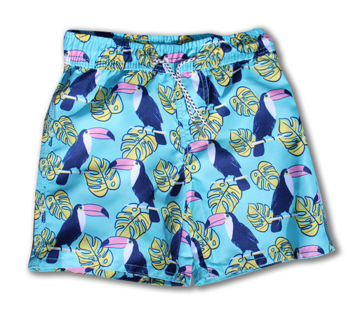 Aqua Toucan Swim Trunk