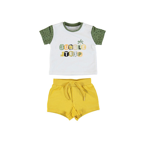 2 Piece Short Set -Jungle Trip