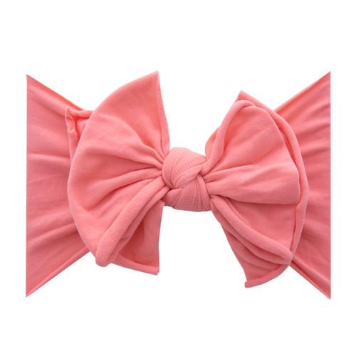 Fab-BOW-Lous headband - Coral