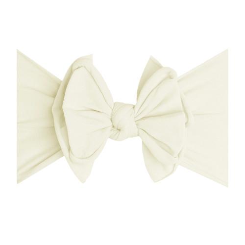 Fab-BOW-Lous headband - Ivory