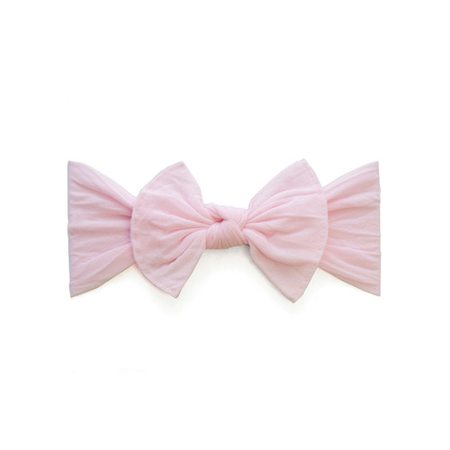 Itty Bitty Knot Headband - Pink