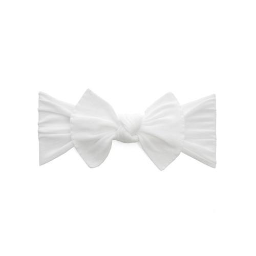 Itty Bitty Knot Headband - White