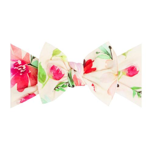 Printed Knot Headband -May Bloom