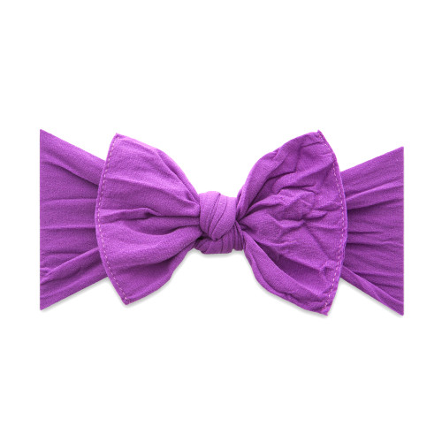 Solid Knot Headband - Grape