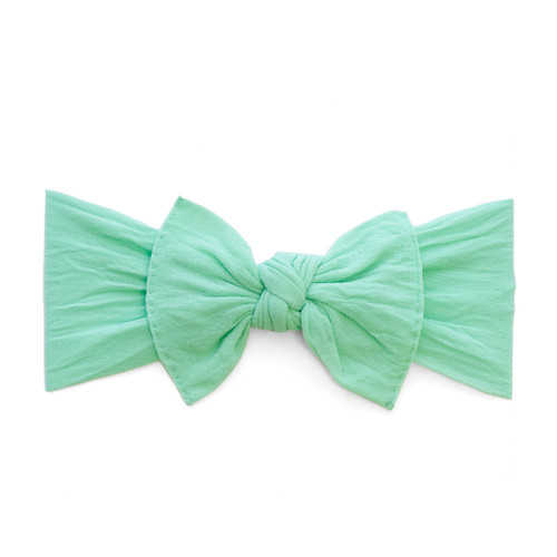 Solid Knot Headband - Mint