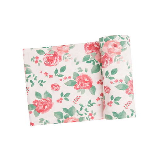 Swaddle Blanket - Rose Garden