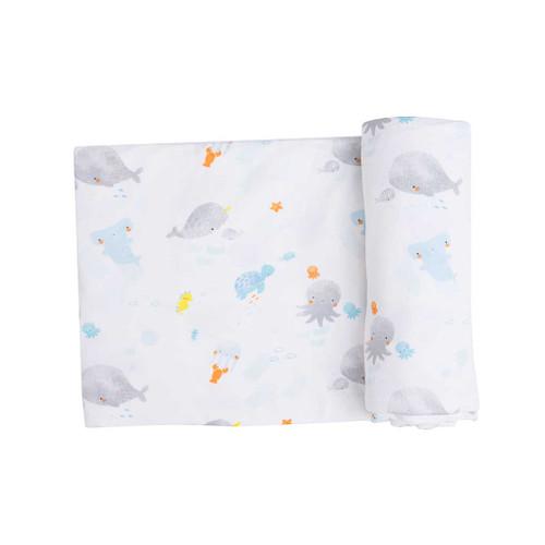 Swaddle Blanket- Baby Shark