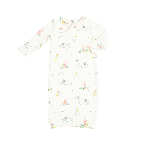 Kimono Gown- Little Farmer Girl
