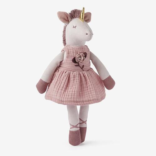 "Knit Unicorn Toy 15"""