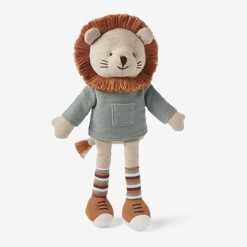 """Knit Lion Toy 15"""""""