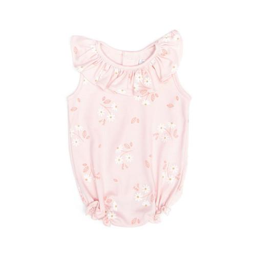 Ruffle Bubble - Pink Daisy
