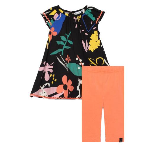 Dress & Capri Set - Cheetah