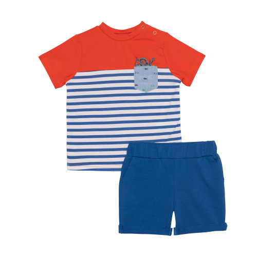 2 Piece T and Shorts Set - Sea Stories
