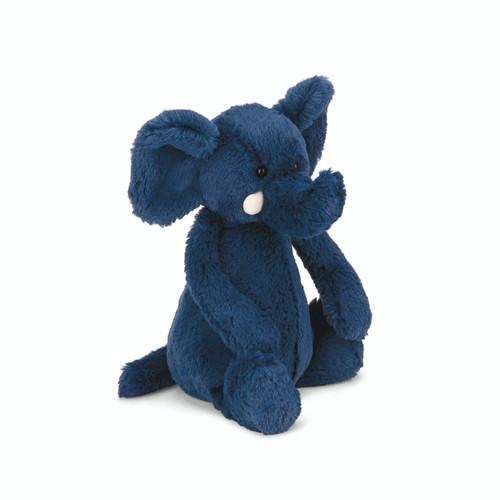 Bashful Blue Elephant Plushy