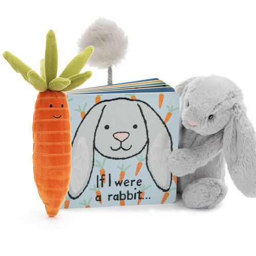 If I Were A Rabbit Gift Set with Carrot
