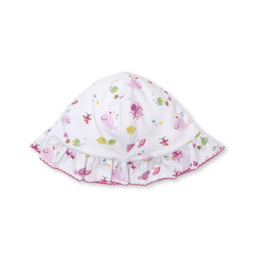 Ocean Oasis - Floppy Hat - Pink