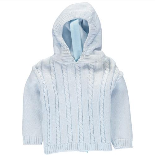Hooded Zip Back Sweater | Registry Item For E+J